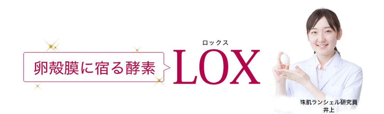 LOX活性卵殻膜とは?